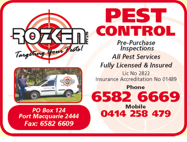 Rozken Pest Services Port Macquarie